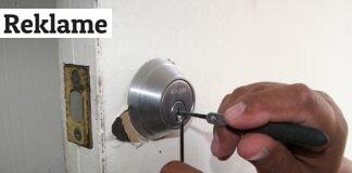 frossen lås